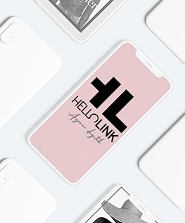 Hellolink agence communication digitale design logo